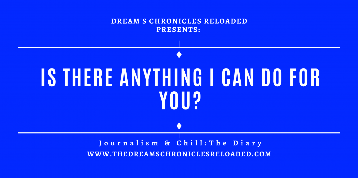 Journalism & Chill: The Diary.